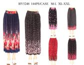 24 Units of Womens Fashion Assorted Color Pleated Skirts - Womens Skirts