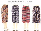24 Units of Womens Fashion Assorted Style Pants - Womens Pants