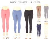 24 Units of Womens Fashion Solid Color Assorted Pants - Womens Pants