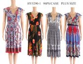 24 Units of Womens Summer Dress Assorted Patterns - Womens Sundresses & Fashion