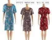 48 Units of Womens Printed Sun Dress - Womens Sundresses & Fashion