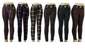 48 Units of Womens Assorted Style Pants With Chain Buckle - Womens Pants