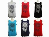 48 Units of Womens Assorted Color Tank Top - Womens Fashion Tops