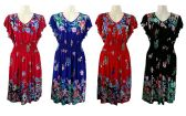 48 Units of Womans Summer Floral Short Dress - Womens Sundresses & Fashion