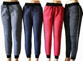 48 Units of Womens Winter Fur Lined Love Joggers - Womens Pants