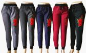 48 Units of Womens Winter Rose Joggers - Womens Pants