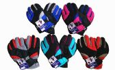 120 Units of Winter Ski And Snowboard Waterproof Glove With Wrist Leashes Assorted Colors - Winter Gloves