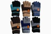 120 Units of Winter Warm Gloves Assorted Colors - Winter Gloves