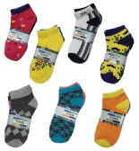 180 Units of Men's Fashion Spandex Ankle Sock - Mens Ankle Sock