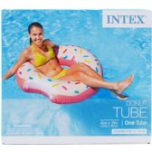 "12 Units of 42""x39"" DONUT TUBE IN COLOR BOX, 14+ - Summer Toys"