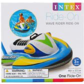"6 Units of 46""x30.5"" WAVE RIDER RIDE-ON W/ HANDLE IN COLOR BOX, 3+ - Summer Toys"