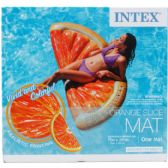 "6 Units of 70""x33.5"" ORANGE SLICE MAT FOR ADULTS - Summer Toys"