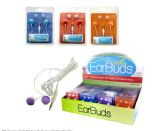 48 Units of Colorful Ear Buds Countertop Display - Headphones and Earbuds