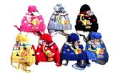 144 Units of Toddler Earflap Beanies Hat Animal Ears Lined Cap Winter Elephant - Junior / Kids Winter Hats