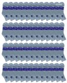48 Units of SOCKSNBULK Women's Diabetic Cotton Ankle Socks Soft Non-Binding Comfort Socks Size 9-11 Gray - Women's Diabetic Socks