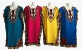 96 Units of Womens Dashiki African Bodycon Dresses Bohemian Vintage Print Club - Womens Sundresses & Fashion