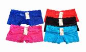 48 Units of Ladies Boxer Lace Boxer Panties - Womens Sundresses & Fashion