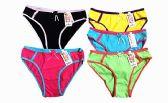 60 Units of Womens Cotton Hi Cut Panties - Womens Panties & Underwear