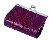 240 Units of Classic Snake Skin Exquisite Buckle Coin Purse - Wallets & Handbags