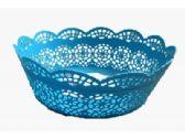160 Units of Plastic Blue Fruit Basket - Serving Trays