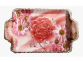 60 Units of Plastic Floral Tray - Serving Trays