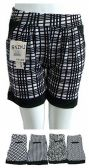 48 Units of Womens Ease Into Comfort Trendy Summer Shorts - Womens Shorts