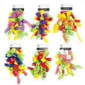 36 Units of Bow With Curly Varnish - Bows & Ribbons