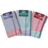 72 Units of Kitchen Towels 2pk 18x28 Yarn Dye Cotton Assorted - Kitchen Towels