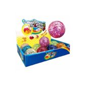 96 Units of Glitter Bouncing Ball - Balls