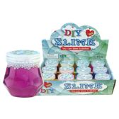 144 Units of Slime Glitter Assorted Colors - Party Favors