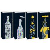 144 Units of Wine Bag - Gift Bags Hologram