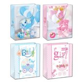 144 Units of Baby Bag Medium - Gift Bags Baby
