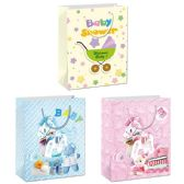 72 Units of Baby Bag Glitter Super Large - Gift Bags Baby