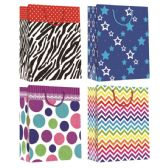 144 Units of Every Day Gift Bag Hot Stamp Large - Gift Bags Assorted