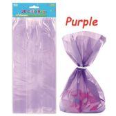 96 Units of Loot Bag Purple Twenty Count - Party Favors
