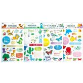 144 Units of Assorted Stickers - Stickers