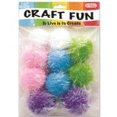 96 Units of Pom Pom - Pom Poms and Feathers