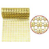 96 Units of Rhinestone Strass Gold - Craft Beads