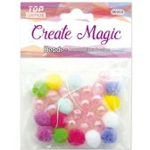 96 Units of Beads Assorted With Elastic - Craft Beads