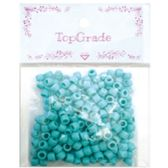 96 Units of Acrylic Bead Blue - Craft Beads