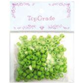 96 Units of Acrylic Bead Green - Craft Beads