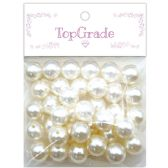 96 Units of White Pearl - Craft Beads