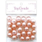 96 Units of Pearl Pink - Craft Beads
