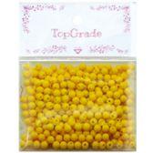 96 Units of Acrylic Bead Yellow - Craft Beads