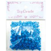96 Units of Acrylic Bead Dark Blue - Craft Beads