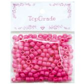 96 Units of Acrylic Bead Pink - Craft Beads
