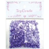 96 Units of Acrylic Bead Purple - Craft Beads