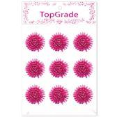 96 Units of Foam Flower In Hot Pink - Arts & Crafts