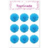 96 Units of Foam Flower In Blue - Arts & Crafts
