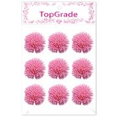96 Units of Foam Flower In Pink - Arts & Crafts